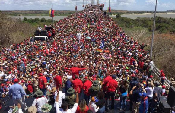 Venezuela: el imperialismo aumenta la presión bajo el disfraz de la 'ayuda humanitaria'