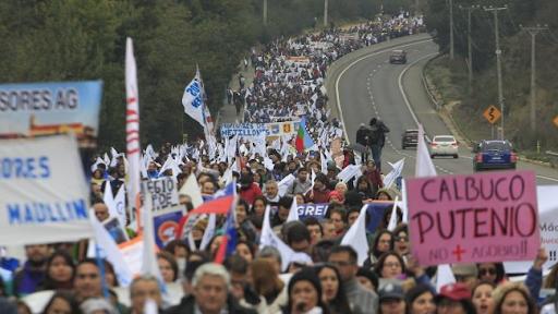Profesores de Chile entran en su quinta semana de Paro Nacional. La ministra Cubillos debe renunciar.