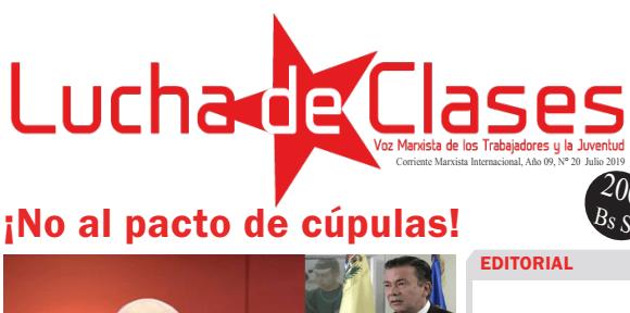 Lucha de Clases # 20 [+PDF]