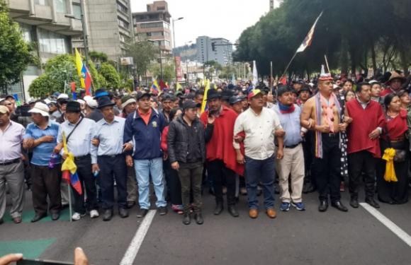 Ecuador: ¡abajo Moreno y el FMI – todo el poder a la Asamblea del Pueblo!