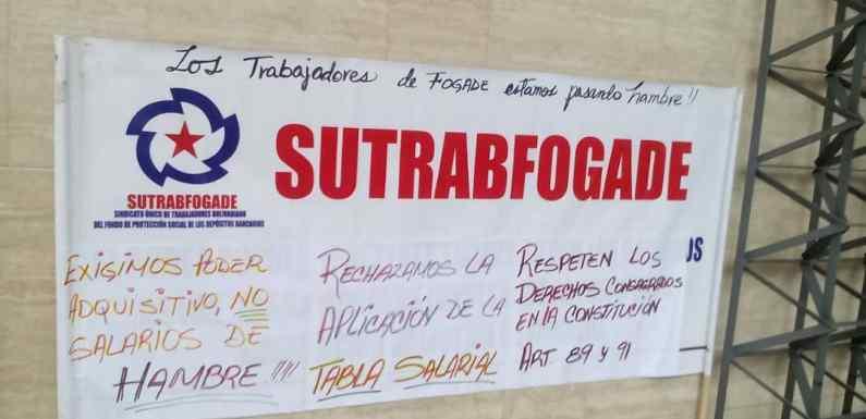 Prosigue la lucha contra los atropellos patronales en Fogade