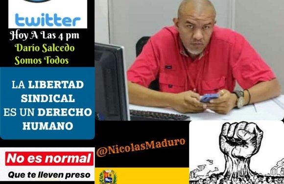 ¡Libertad a Darío Salcedo! ¡Basta de represión contra la clase obrera!