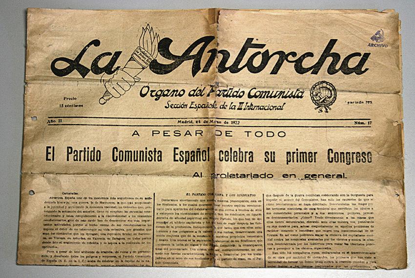 407 2013 10 04 La Antorcha. Primer periódico del Partido Comunista Español