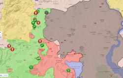 mapa alepo