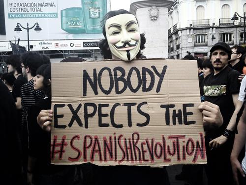 nobody expects the spanish revolution
