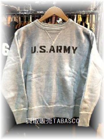 THE Real McCOY'S リアルマッコイズ U.S.ARMY トレーナー