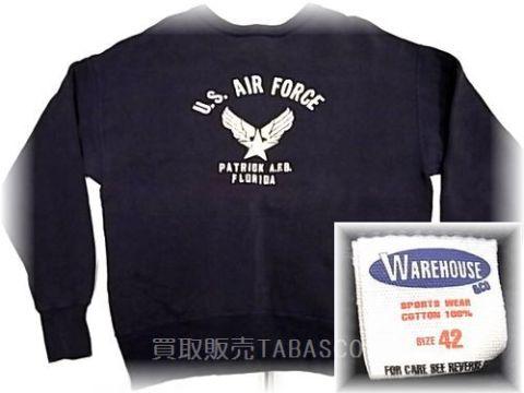 WAREHOUSE ウエアハウス AIR FORCE スウェット