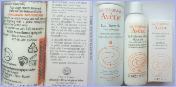 Avene Skin Care kit