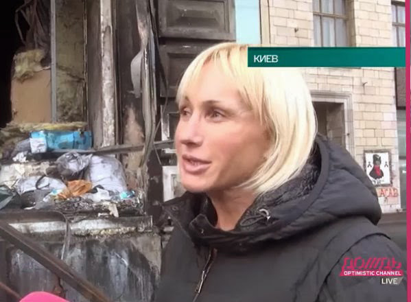 хозяйка киевского магазина