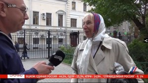 Moscow voter