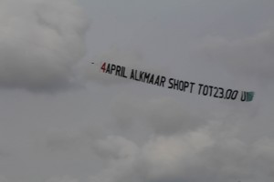 Luchtreclame Lelystad