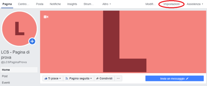 Come creare una vetrina su Facebook - LCS