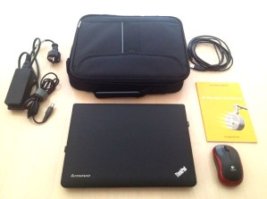 The Lucia N°03 Thinkpad and accessories included with a purchase of a Lucia N°03