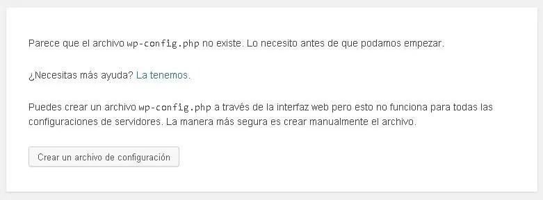 Cómo instalar WordPress paso a paso: Lo primero que tienes que hacer es crear un archivo de configuración
