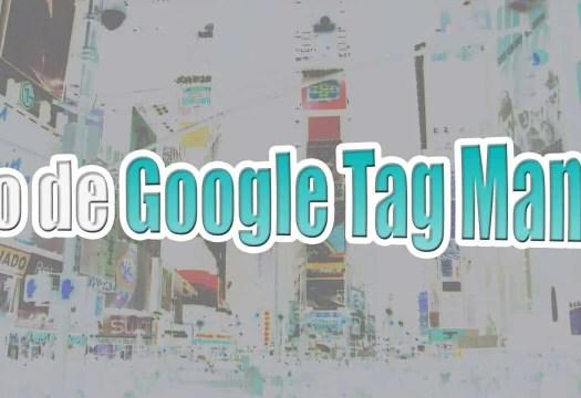 Curso Tag Manager y Analytics