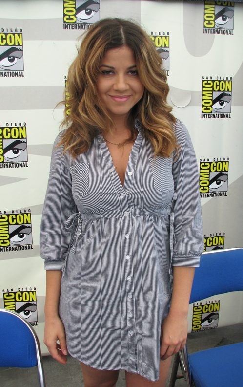 Luciana Carro at San Diego Comic Con (by JR)