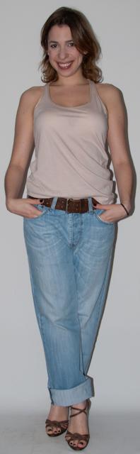 Look do dia: Como usar calça boyfriend jeans - maxi colar, sandália schutz, speedy louis vuitton - blog de moda