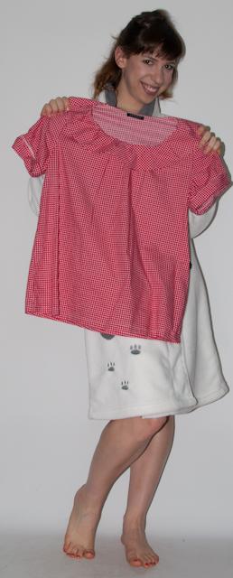 Look vermelho: como usar short de cintura alta, blusa xadrez zara e salto alto Santa Lolla - blog de moda