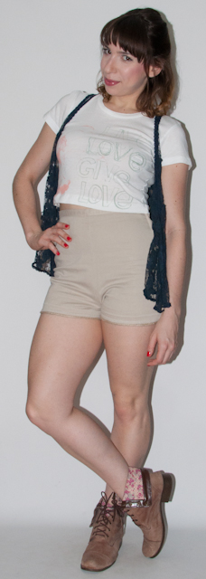 Como usar hot pants e crop top - look do dia - blog de moda