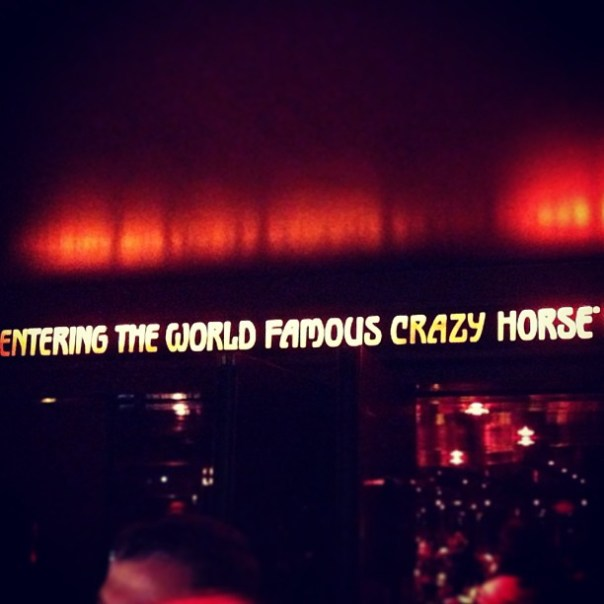 Paris - Crazy Horse - Instagram