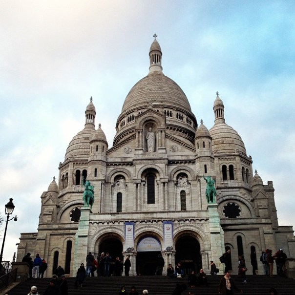 Paris - Fotos de Paris - Montmartre - Sacre Coeur - Instagram