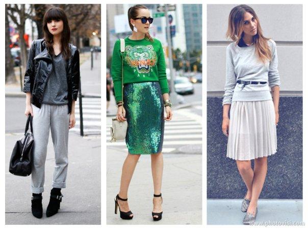 como usar Moletom moderno - dicas de moda