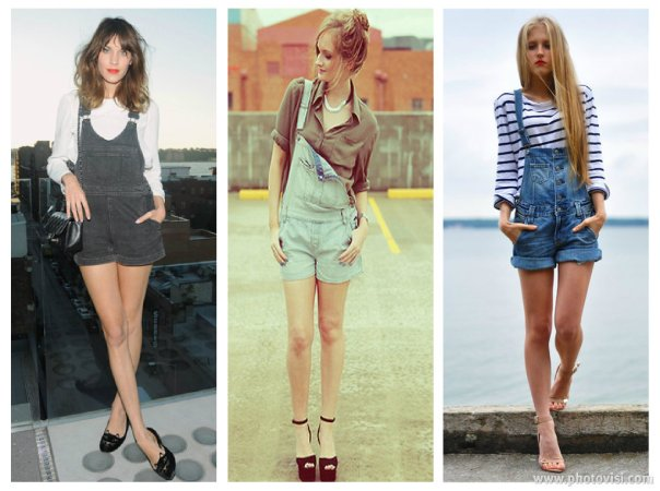 como usar jardineira de short jeans - dicas de moda