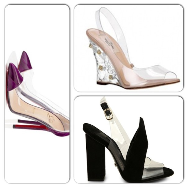 tendências de calçados para a primavera/verão 2013 - transparências