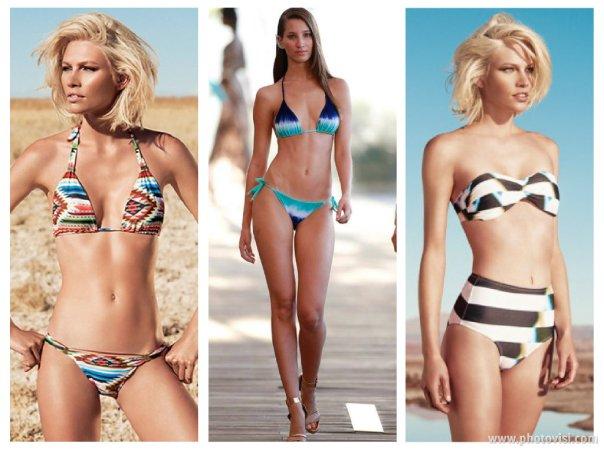 Tendências de moda praia para o Verão 2014 estampas
