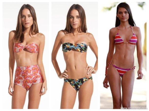Tendências de moda praia para o Verão 2014 modelagem