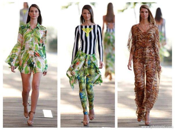 Tendências de moda praia para o Verão 2014 saída de praia