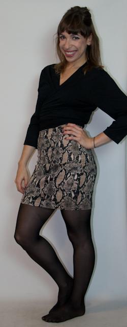 como usar estampa de cobra - look do dia - blog de moda