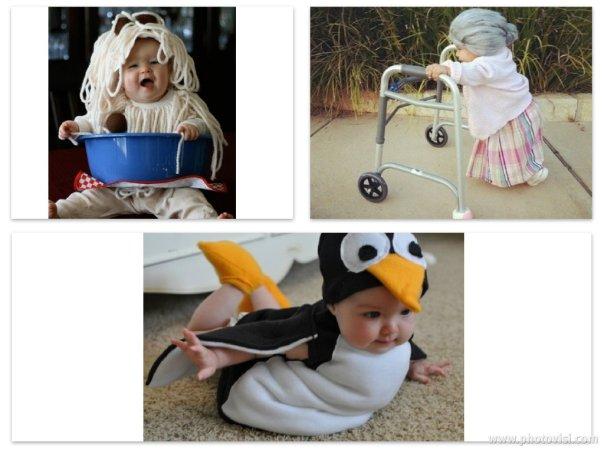 Fantasias de crianças para o Halloween - Bebês