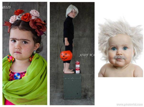 Fantasias de crianças para o Halloween - Personalidades