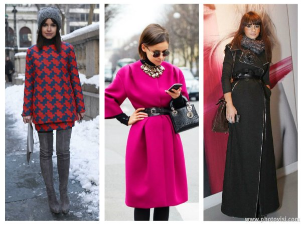 O estilo de Miroslava Duma - Roupas de inverno