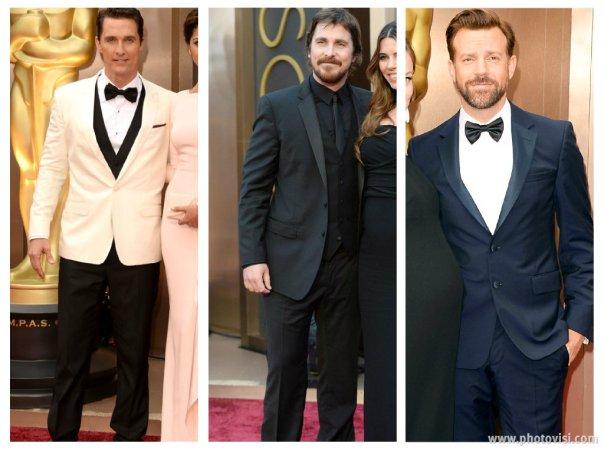 Looks das celebridades no Oscar 2014 - Homens