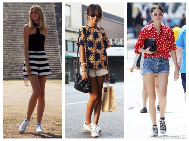 Dicas de moda sobre como usar tênis que compõem looks casuais - short 1
