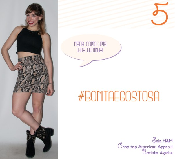 Luta do Dia 5 - look de balada - blog de moda