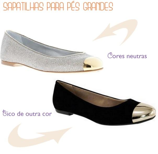 que sapatilha usar pés grandes - sapatilhas para o seu tipo de corpo