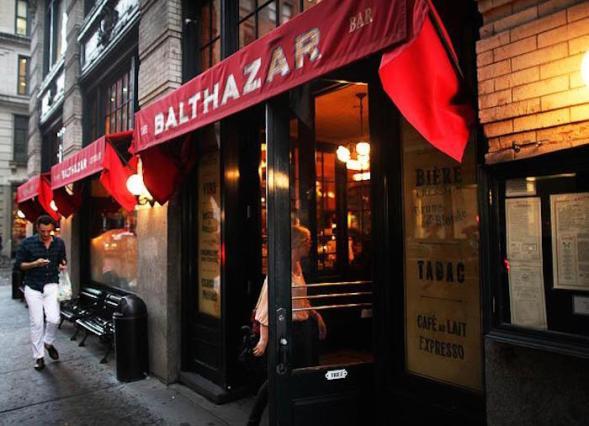 Melhores restaurantes em Nova York - balthazar 3