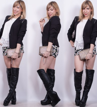look com bota over the knee