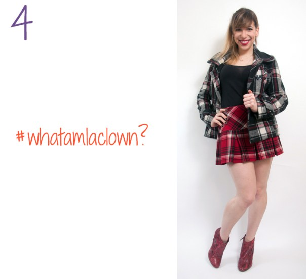 how to wear a plaid skirt 4