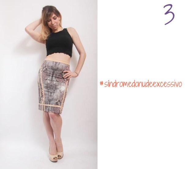 como usar saia midi lapis cintura alta 3