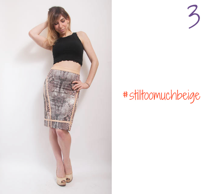 how to wear high waisted pencil skirt 3