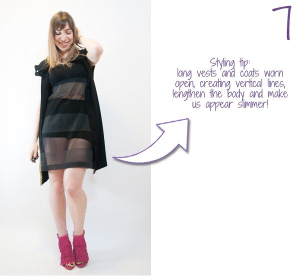 how to wear hot pants and a sheer skirt 7