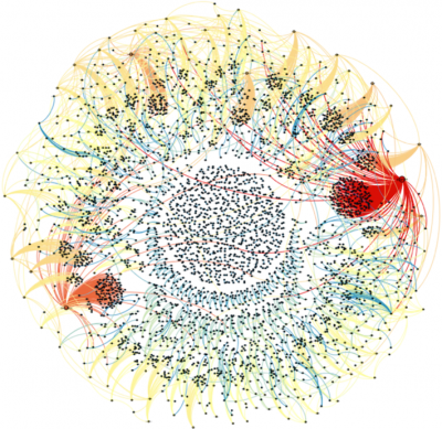 Source: http://gephi.org/2011/the-egyptian-revolution-on-twitter/