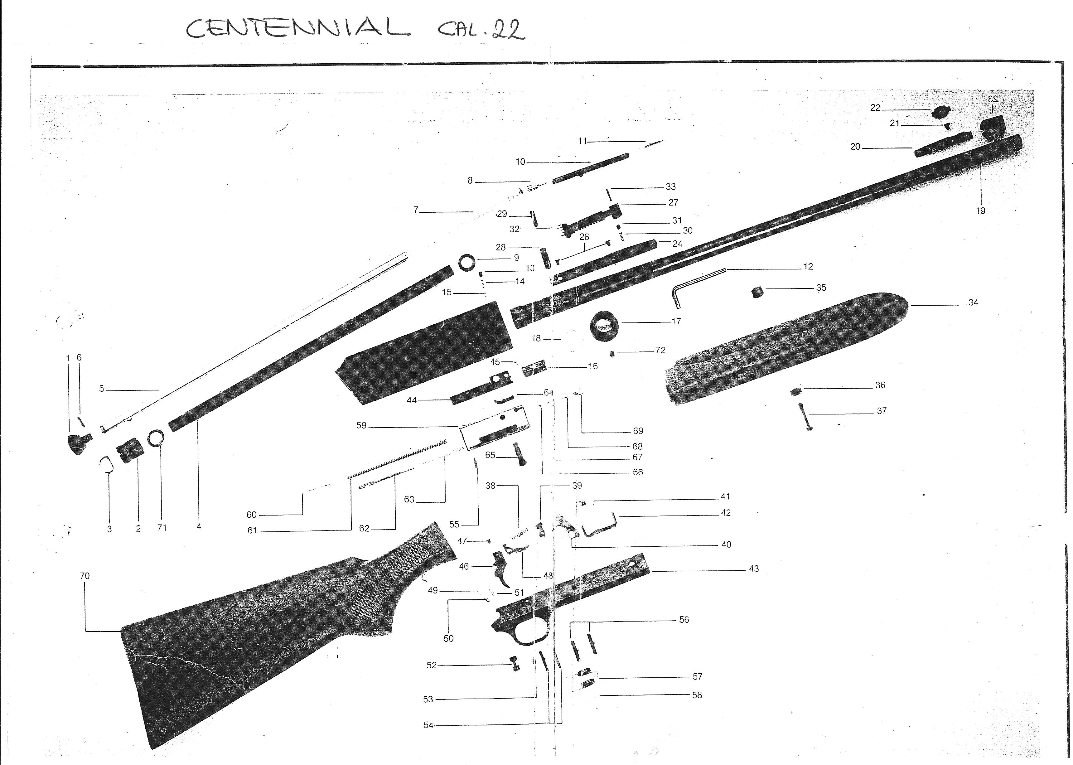Franchi Centennial Semiatomatica In Cal 22 Lr