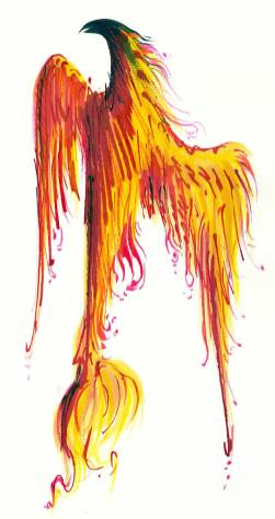 Fenixul - ilustratie de George Romila
