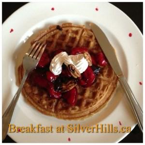 Breakfast-at-SilverHills.ca-intercer-health-pancake-waffles-strawberry-fruits-veggie-veggies-canada-