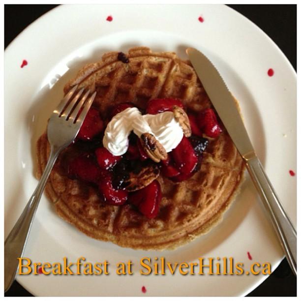 Breakfast at SilverHills.ca